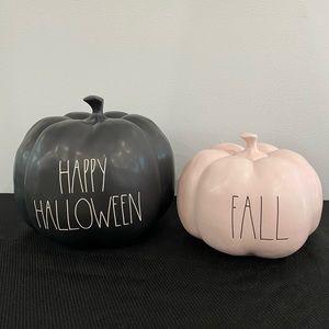 Rae Dunn Bundle 2 Pumpkin Fall Halloween Pink
